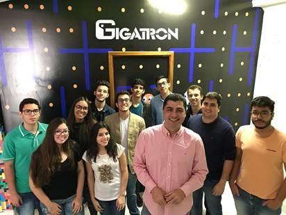 millennials parceiros da Gigatron