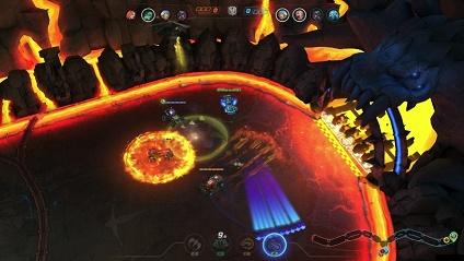 Cena do game Heavy Metal Machines