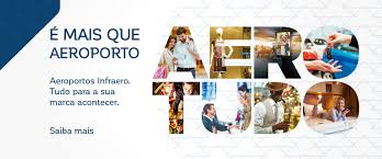 Banner promocional da Infraero