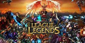 Banner do League of Legends