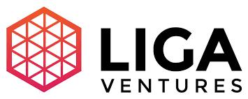Logomarca da Liga Ventures aceleradora de startups