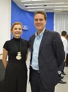 Ligia Fascione e Alexandre Machado