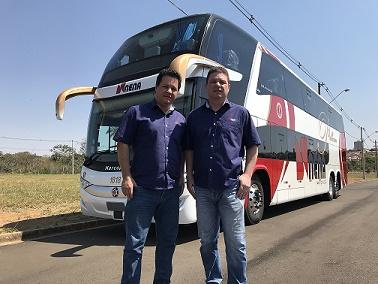 Fabiano e Gustavo H de Souza da NENA Viagens