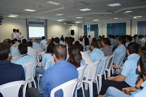 Sala de palestras da Semana de Inovação