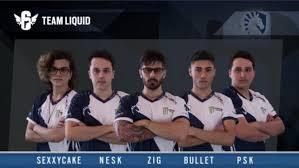 Equipe de R6 Team Liquid