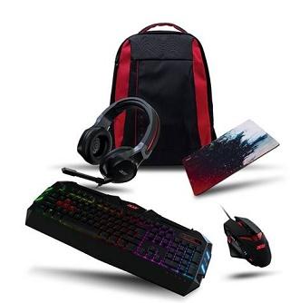 Vários gadgets Acer