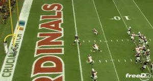 Jogo de Super Bowl com a tecnologia True View