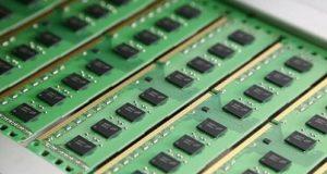 Um dos módulos DDR4 2933