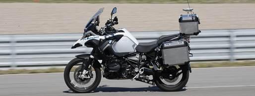 A moto BMW Motorrad