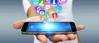 smartphone com aplicativos
