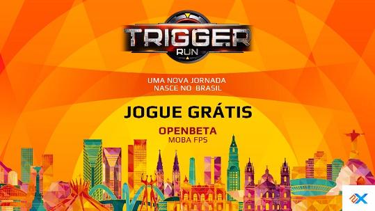 Banner do game Triggerun