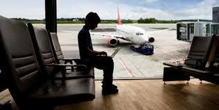 wi-fi grátis o aeroporto