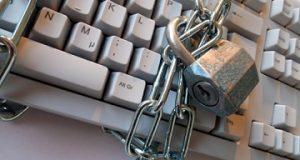 Cadeado no teclado