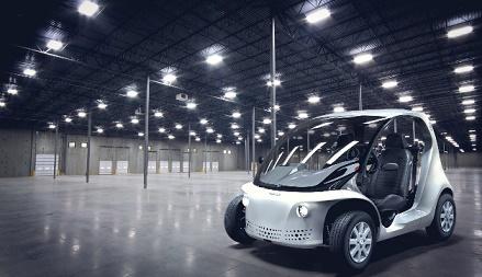 Carro elétrico com tecnologia Autodesk