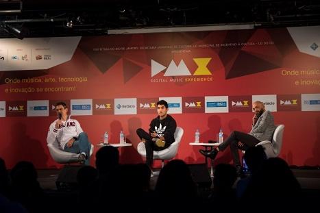 Marco Túlio e palestrantes do DMX
