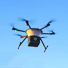 Drone SMX entregando remédios