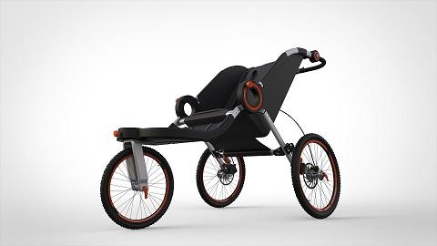Triciclo do SENAI e tecnologia SOLIDWORKS