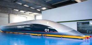Cápsula de passageiros do Hyperloop
