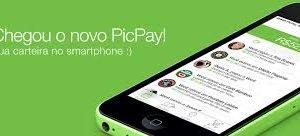 smartphone com o PicPay