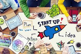 B anner desenho de startups