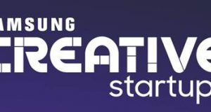 Banner do Samsung Creative Startups