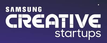 Banner do Samsung Creative Startups