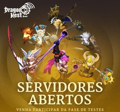 Banner do Dragon Nest