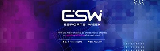 Banner da Esports Week