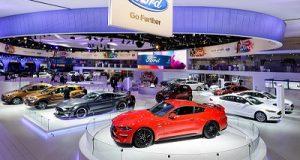Estande da Ford Salão do Automóvel