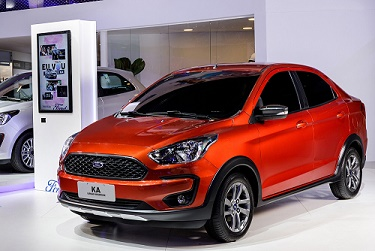 Ford Ka no Salão do Automóvel