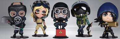 Bonequinhos do Rainbow Six