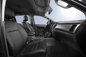Ranger Black Edition interior