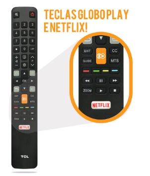 Controle remoto TCL  4K