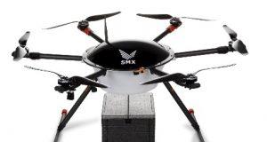 Drone em exibição na DroneShow