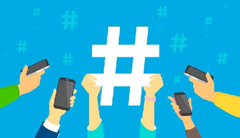 Acessos às hashtags
