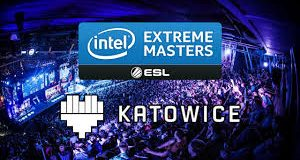 Banner e ambiente do Intel Extreme Masters