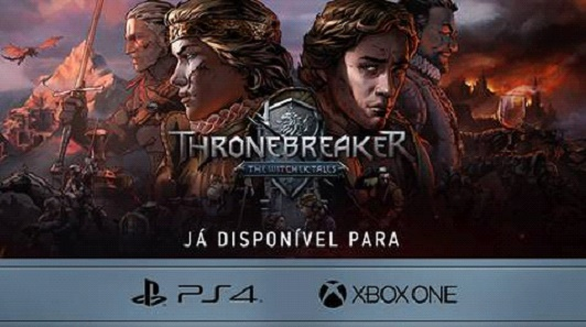 Banner do game Thronebreaker