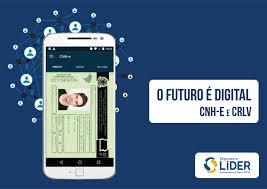 smartphone com CRLV digital