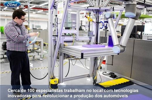 Centro da Ford fábrica do futuro