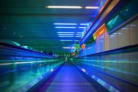 Corredor de aeroporto