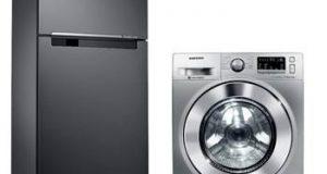 Refrigerador e lavadora Eletrodomésticos Samsung