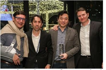 Equipe premiada da Ingram Micro
