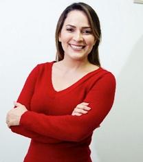 Fernanda autora do artigo