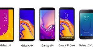 Linha Galaxy J da Samsung