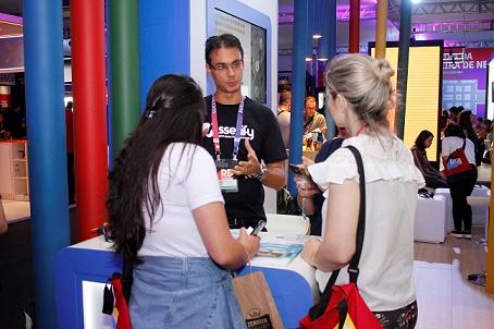 Pessoas no Google Cloud Summit