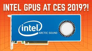 intel GPUs CES 2019