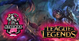 Banner da LoL Athena's e-Sports