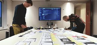 Mesa de trabalho design sprint