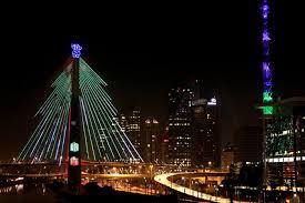 Concuros São Paulo iluminada