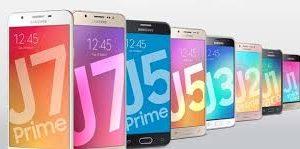Vários Samsung Galaxy